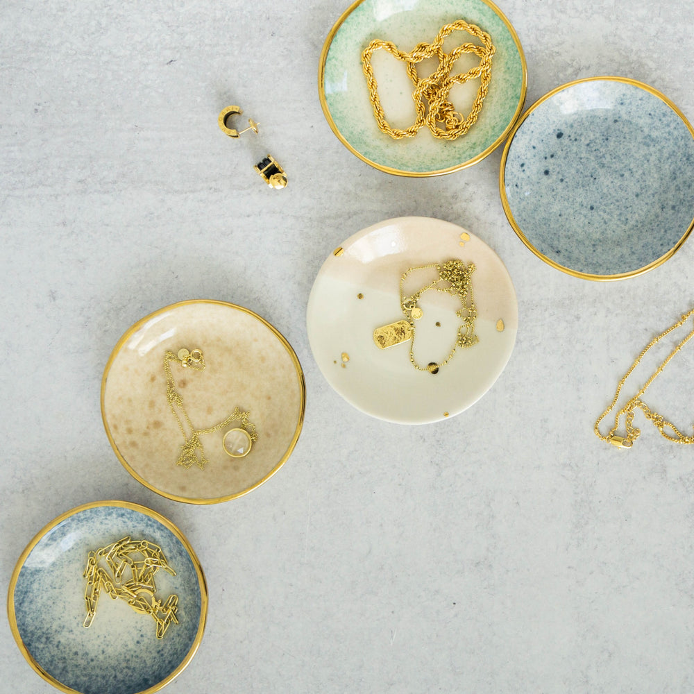 "4"" TRINKET DISH (DROPS OF HONEY COLLECTION)"