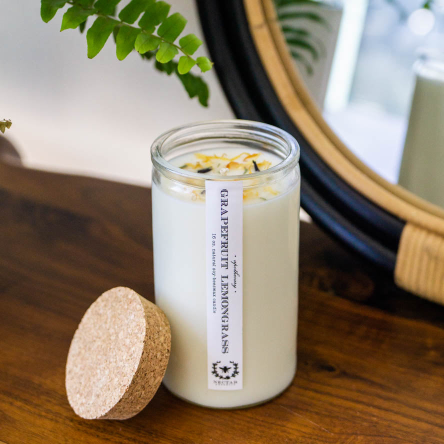 GRAPEFRUIT LEMONGRASS APOTHECARY CANDLE