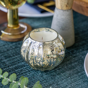 Load image into Gallery viewer, AUTUMN SAGE MERCURY LEAVES CANDLE