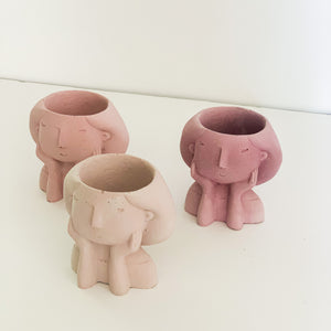 Load image into Gallery viewer, THINK PINK - MIA PLANTER TRIO