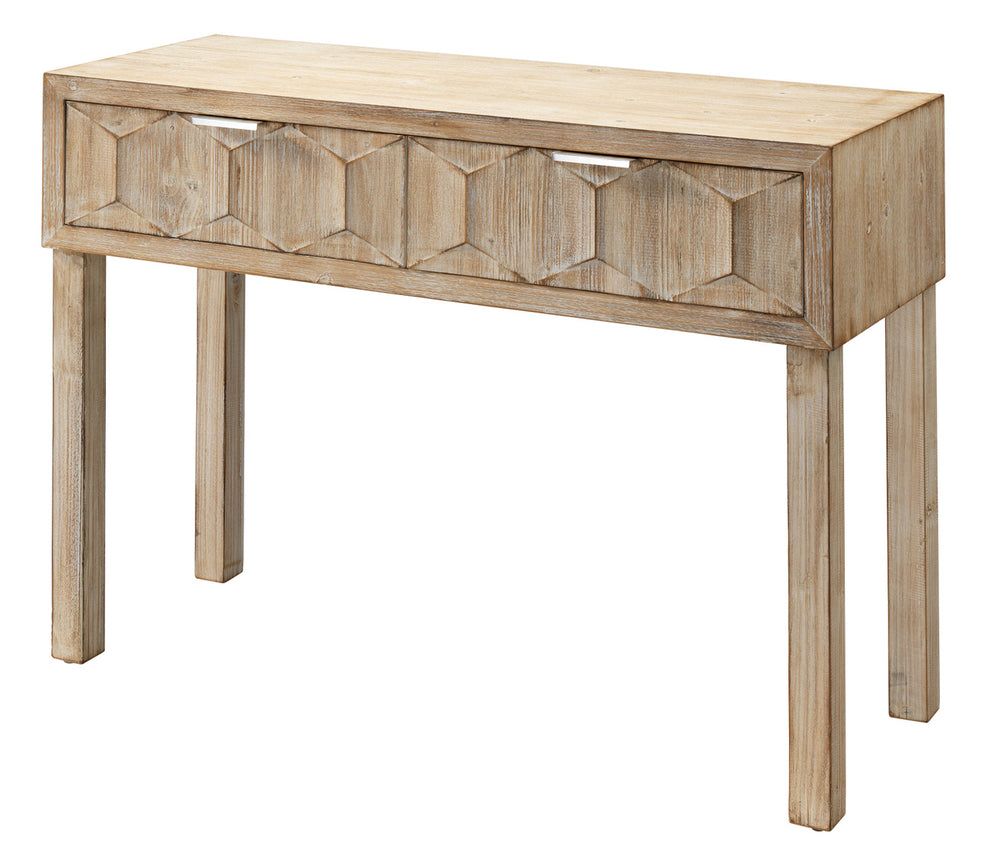 JUNIPER TWO DRAWER CONSOLE TABLE