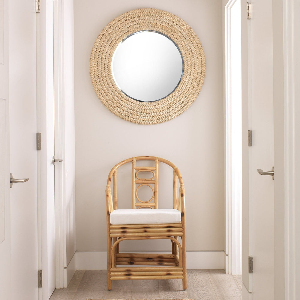 "MEADOW 36"" MIRROR IN NATURAL SEAGRASS"