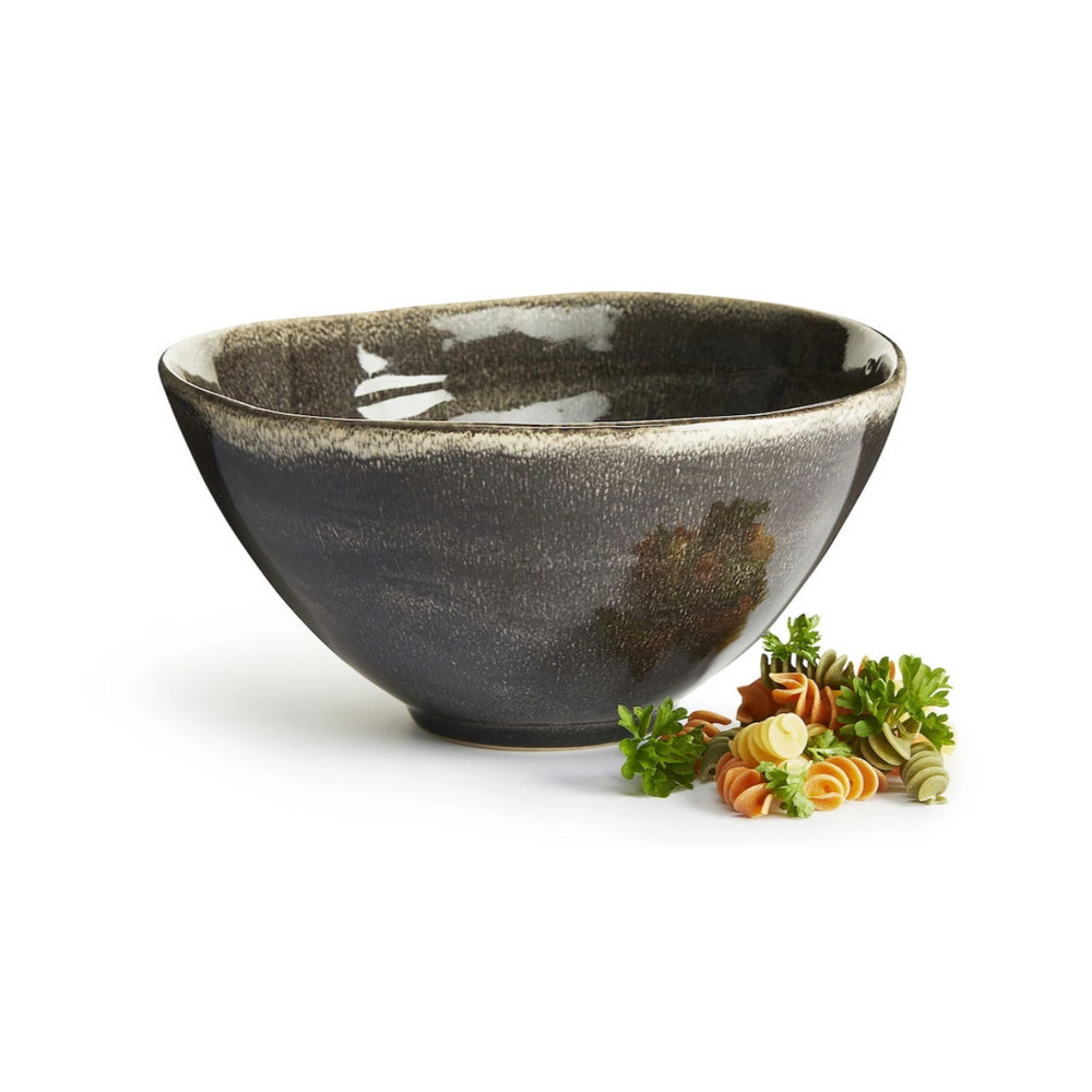 NATURE SERVING BOWL, GREY