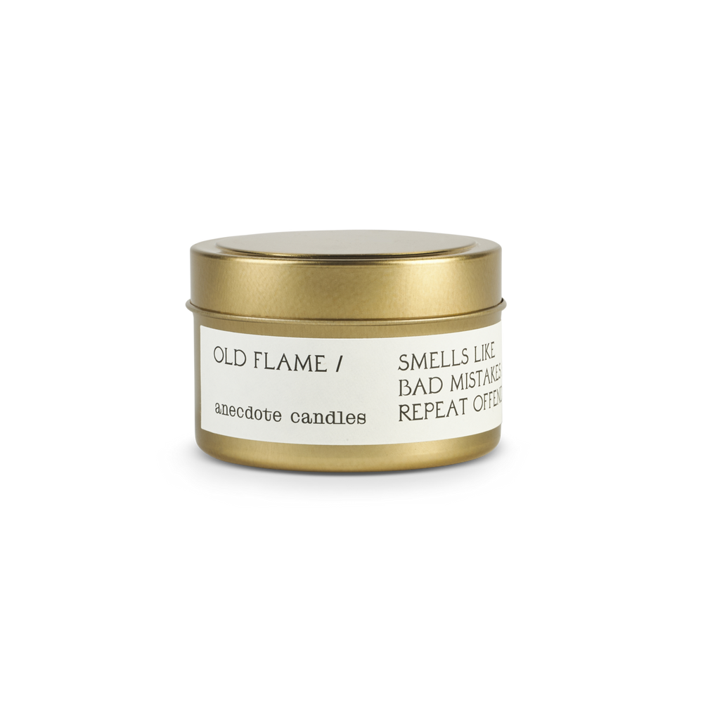 OLD FLAME (SANTAL) TRAVEL TIN CANDLE