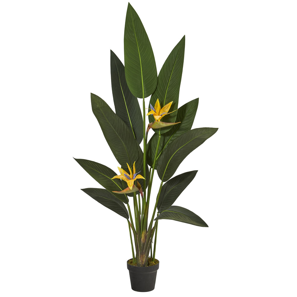 4.5' BIRD OF PARADISE ARTIFICIAL PLANT