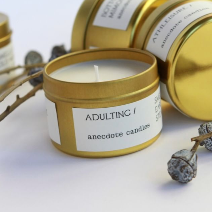 ADULTING (FIG & CASHMERE) TRAVEL TIN CANDLE