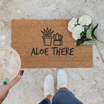 ALOE THERE | WELCOME MAT
