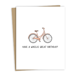 Load image into Gallery viewer, A WHEELIE GREAT BIRTHDAY CARD
