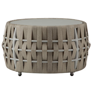 SCORPIO OUTDOOR ROUND COFFEE TABLE