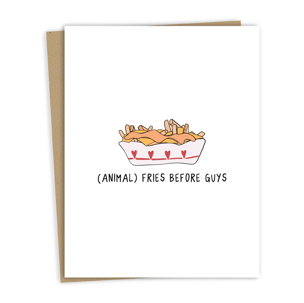 Load image into Gallery viewer, ANIMAL FRIES CARD