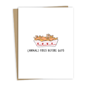 ANIMAL FRIES CARD