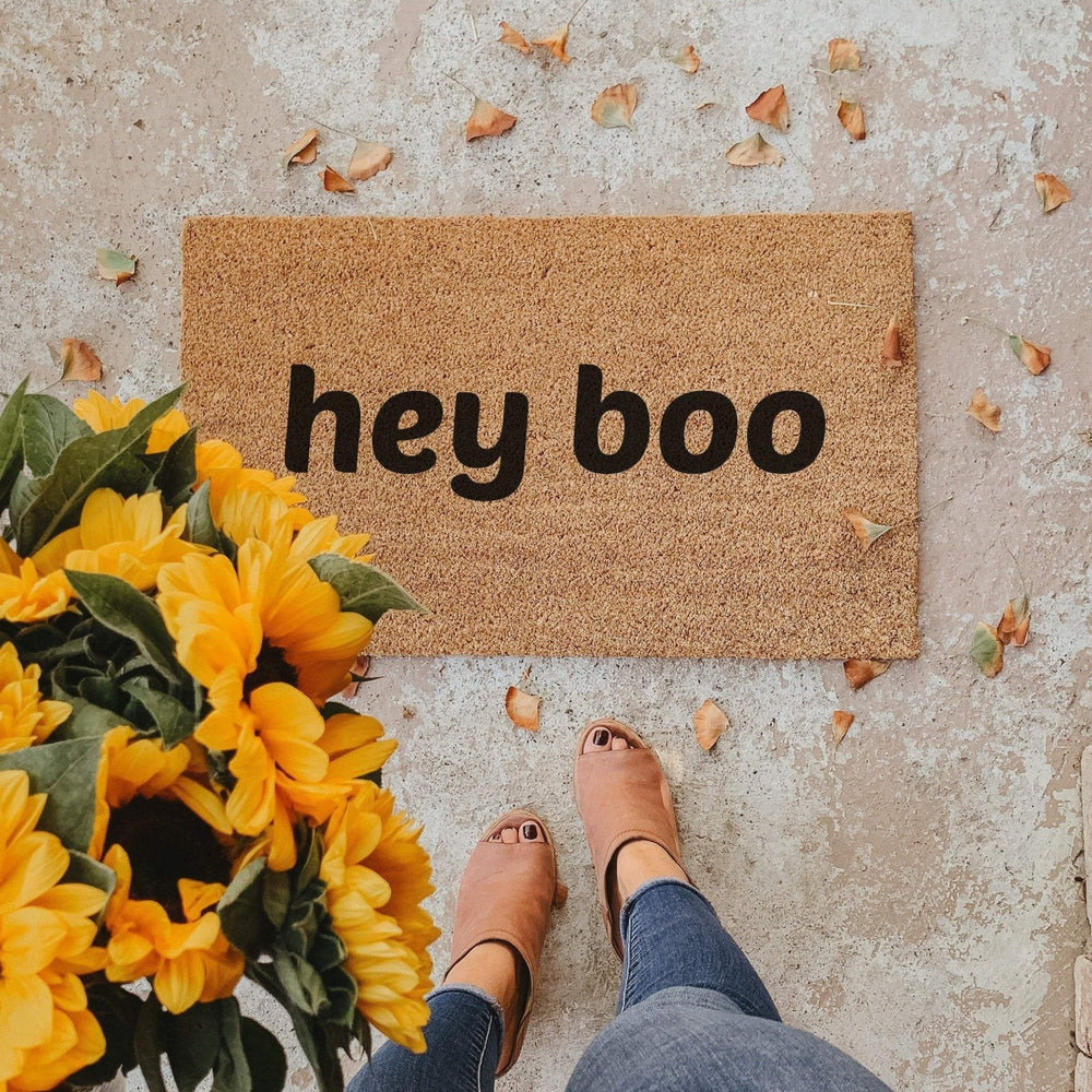 HEY BOO | WELCOME MAT
