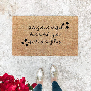 HOW'D YOU GET SO FLY | WELCOME MAT