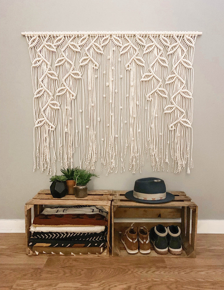 Load image into Gallery viewer, AUTUMN BOHEMIAN MACRAME