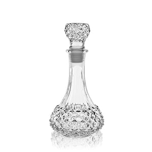 Load image into Gallery viewer, STUDDED GLASS DECANTER