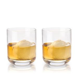CRYSTAL WHISKEY TUMBLERS