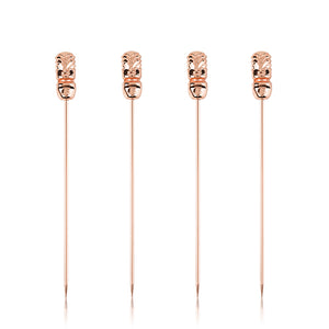 SET OF 4 TIKI COCKTAIL PICKS