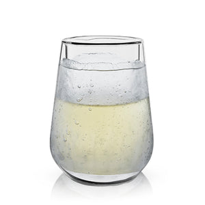 GLACIER™ DOUBLE-WALLED CHILLING WINE GLASS