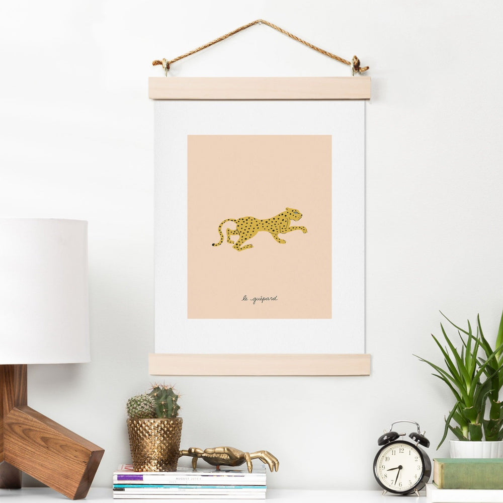 Load image into Gallery viewer, MEGAN GALANTE LE GUPARD ART PRINT