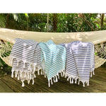 striped terry turkish towel