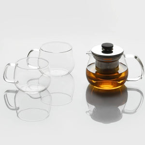 UNITEA TEAPOT 450ML / 17OZ STAINLESS STEEL