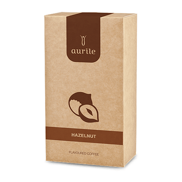 Aurile Hazelnut Groundcoffee - FM-Shop Europe