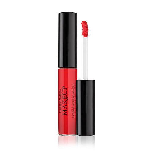 Long-Lasting Matte Liquid Lipstick Hot Red