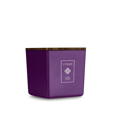 Luxury Scented Candle UTIQUE Violet Oud 180g