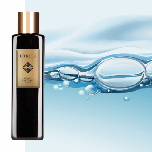 Utique Luxury shower gel Black