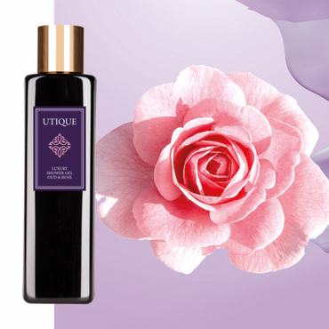 Utique Luxury shower gel Oud & Rosé