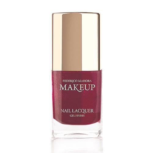 Nail Lacquer Gel Finish Mysterious Claret - FM-Shop Europe