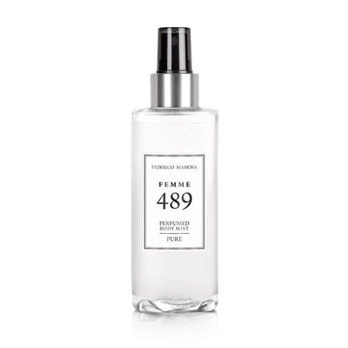 Perfumed Body Mist 489 For Her