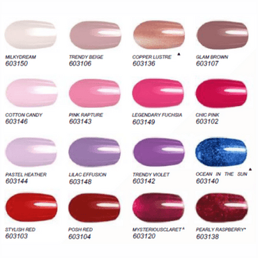 Nail Lacquer Gel Finish Pastel Heather - FM-Shop Europe