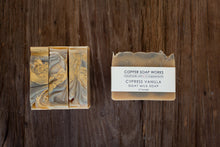 Load image into Gallery viewer, Cypress Vanilla handmade goat milk soap