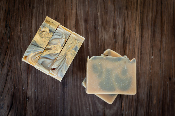 All natural handmade goat milk soap