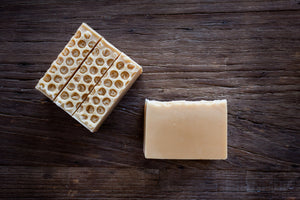 handmade all natural honey soap