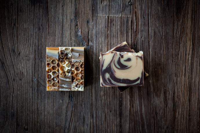 Cocoa + Honey Soap