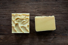 Load image into Gallery viewer, shea, cocoa and mango butters goat milk soap
