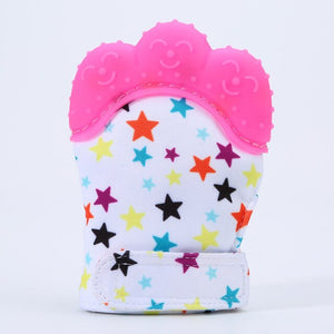 Stars Teether Mitts