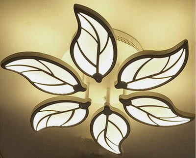 6 heads New Design Acrylic Modern Led Ceiling Lights