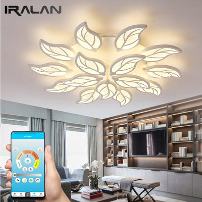Design Leaves Shape creative LED ceiling lights
