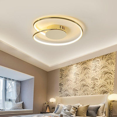 Chrome/Gold Plated Modern LED Ceiling Lamp Fixtures