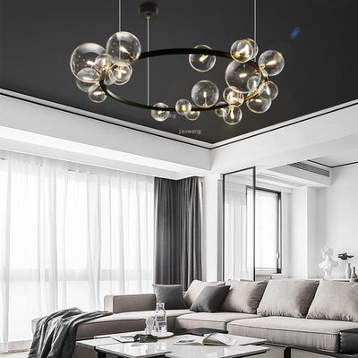 Luxury American Glass Decor LED Pendant Lights Nordic Light