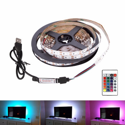 USB LED Desktop Decor Tape TV Background Lighting