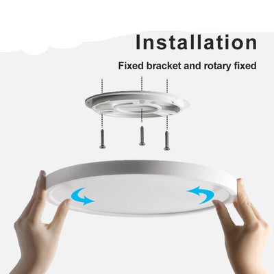 Dimmable Home Surface Mounted Ultra Slim Interior Lighting