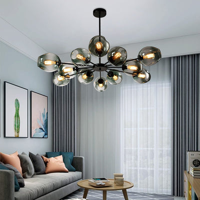 Modern Minimalist Creative Living Room Chandeliers