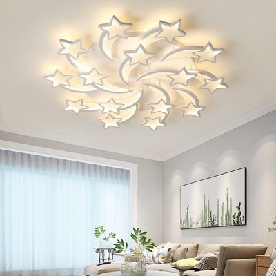 Smart Control LED Stars Design Light