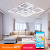 Creative Design square Modern LED Ceiling Chandelier