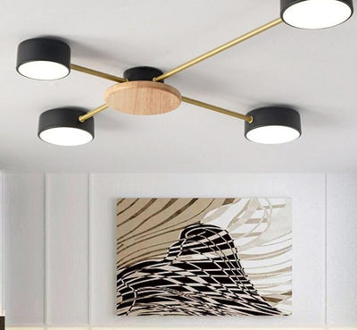 Nordic Designer Art Decor Ceiling Mounted Bedroom Lightings