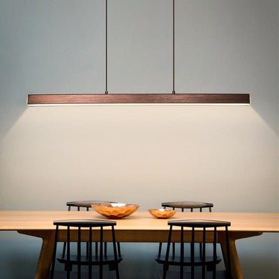 Nordic restaurant long hanging Modern LED Lighting Fixtures